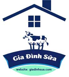 Gia đình sữa logo icon