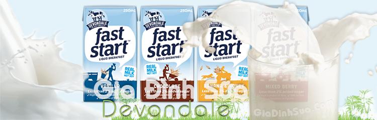 sữa tươi Devondale