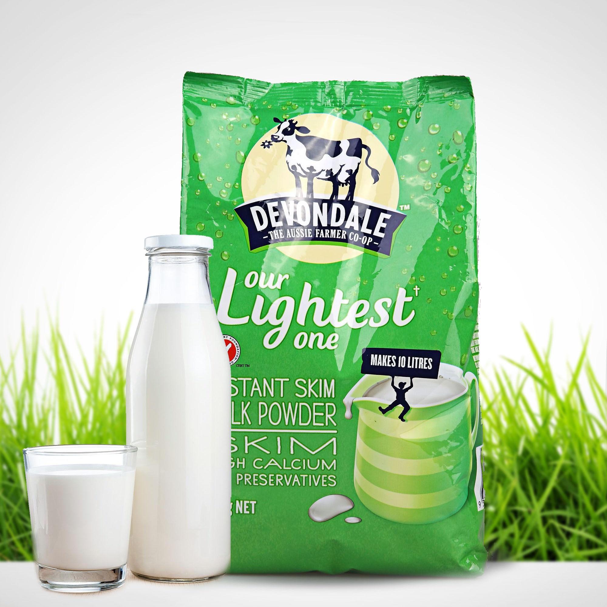 sữa bột Devondale Skim High
