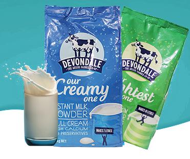 sữa tưoi devondale dạng bột