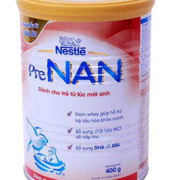 Sữa bột Pre Nan