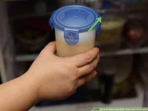 làm lạnh sữa bột