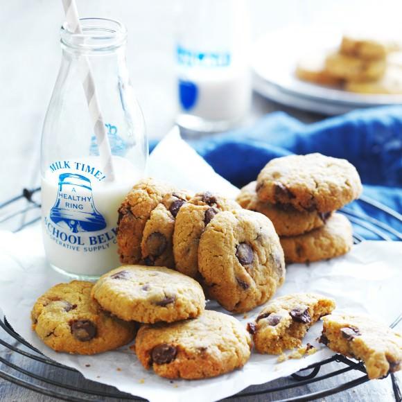 Bánh quy socola.