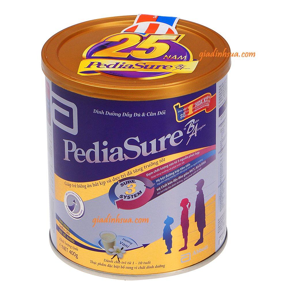 sữa bột pediasure ba 400g