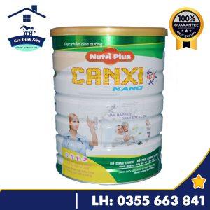 Sữa Nutri Plus Canxi Nano dành cho người loãng xương