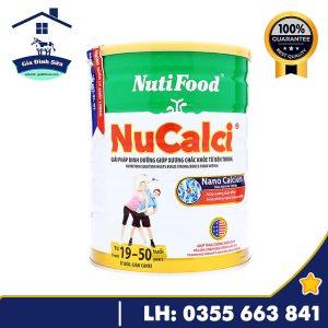 Sữa Nucalci Gold 800g dành cho người loãng xương