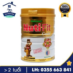 Sữa bột Nuti Fit Gold – dành cho trẻ thừa cân, béo phì