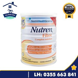 Sữa Nutren Fibre – Sữa dành dành cho người mới ốm dậy
