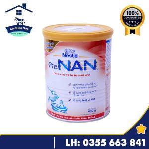 Sữa bột Pre Nan dành cho trẻ suy dinh dưỡng, thấp còi