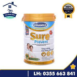Sữa bột Vinamilk Sure Prevent dành cho người cao tuổi