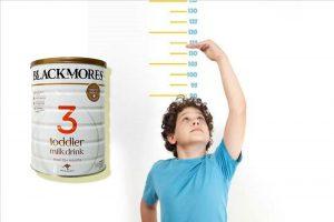 Canxi có trong sữa Blackmores là thành phần chính cần thiết cho việc phát triển chiều cao của trẻ