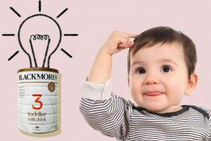 Sữa Blackmores số 3 cung cấp dưỡng chất giúp trẻ phát triển trí não toàn diện