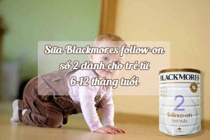 Suqax Blackmores follow-on số 2 giúp bổ sung đầy đủ dưỡng chất cho trẻ trong độ tuổi 6-12 tháng