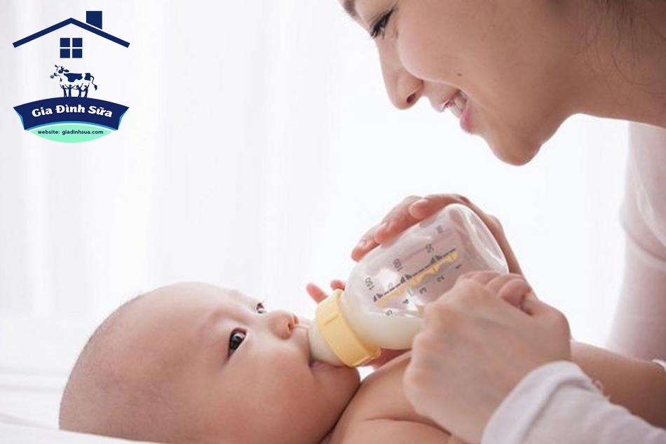 Lưu ý khi sử dụng sữa non cho trẻ