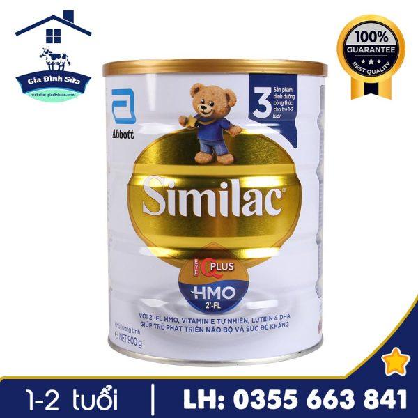 Sữa Similac IQ HMO 900g số 3 - lựa chọn tin cậy cho trẻ từ 1-2 tuổi