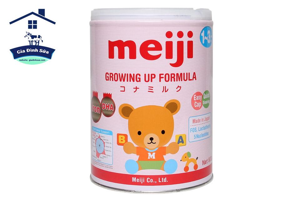 Sữa Meiji Growing Up Formula 800g (1- 3 tuổi)
