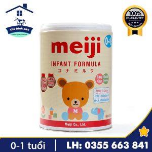 Sữa Meiji Infant Formula 800g dành cho trẻ từ 0-1 tuổi – Gia Đình Sữa