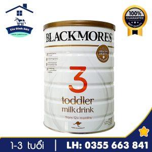 Sữa Blackmores Toddler số 3 900g dành cho trẻ trên 12 tháng tuổi