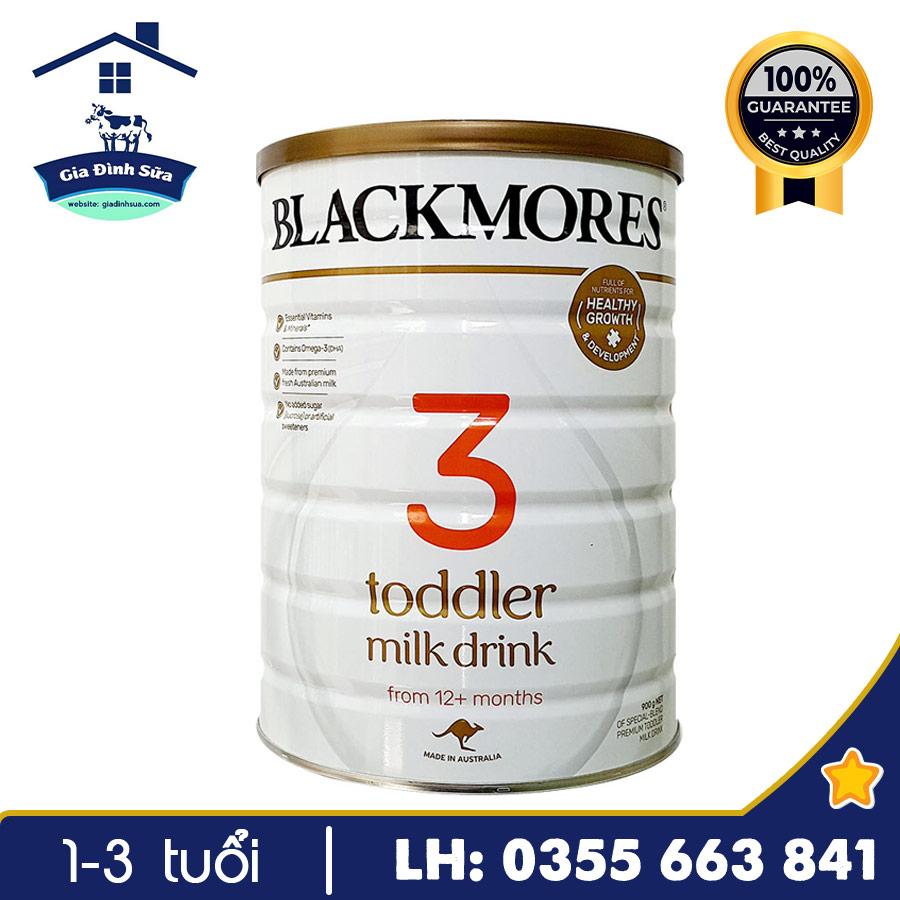 Sữa Blackmores Toddler số 3 900g (Trên 12 tháng)