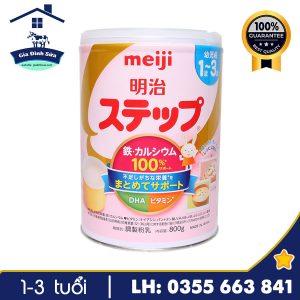 Sữa Meiji số 9 800g nội địa Nhật dành cho trẻ từ 1-3 tuổi – Gia Đình Sữa