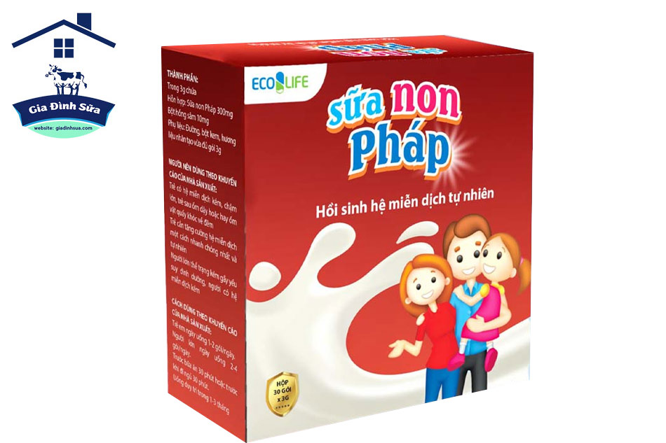 Sữa non Pháp Ecolife