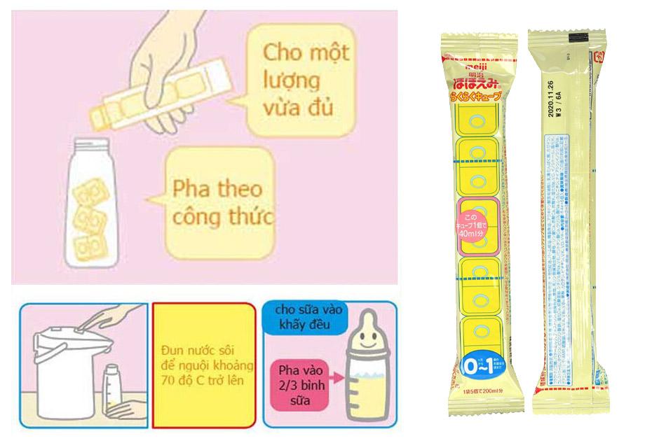 Pha sữa đúng theo công thức đảm bảo trẻ hấp thu dinh dưỡng tốt nhất