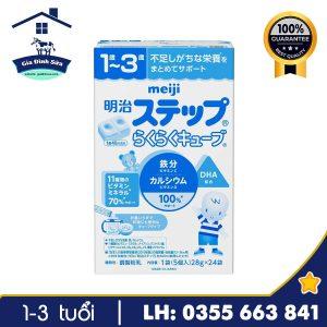 Sữa Meiji số 9 dạng thanh 672g dành cho trẻ từ 1-3 tuổi – Gia Đình Sữa