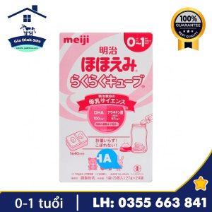 Sữa Meiji số 0 dạng thanh 648g dành cho trẻ từ 0-1 tuổi – Gia Đình Sữa