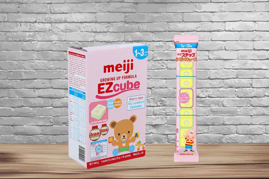 Sữa thanh Meiji Growing Up Formula 448g dành cho trẻ 1-3 tuổi