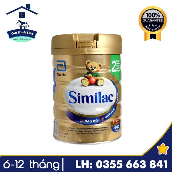 Sữa Similac IQ HMO số 2 (900g) - Công thức tối ưu cho trẻ từ 6-12 tháng tuổi