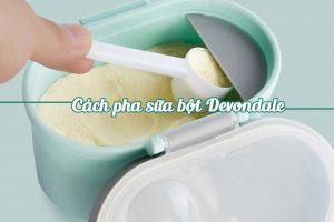 Pha sữa đúng liều lượng theo hướng dẫn giúp cơ thể hấp thu tốt các chất